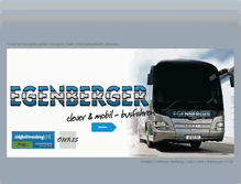 Tablet Preview of egenberger-reisen.de